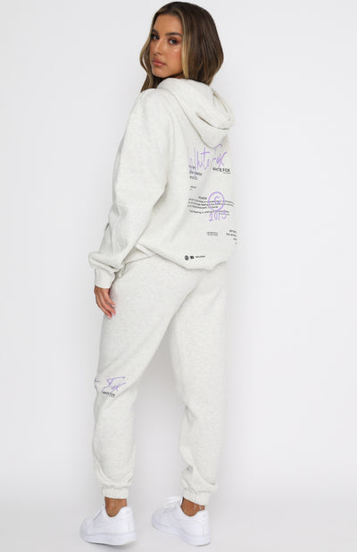 The New Way Hoodie Grey Marle
