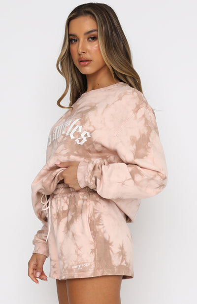 Days Like These Oversized Sweater Dusty Rose