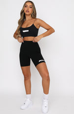 Bounce Back Bike Shorts Black