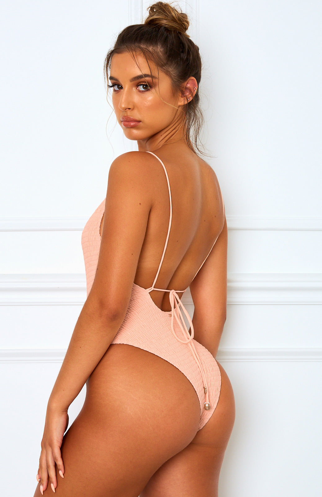 Venus One Piece Peach