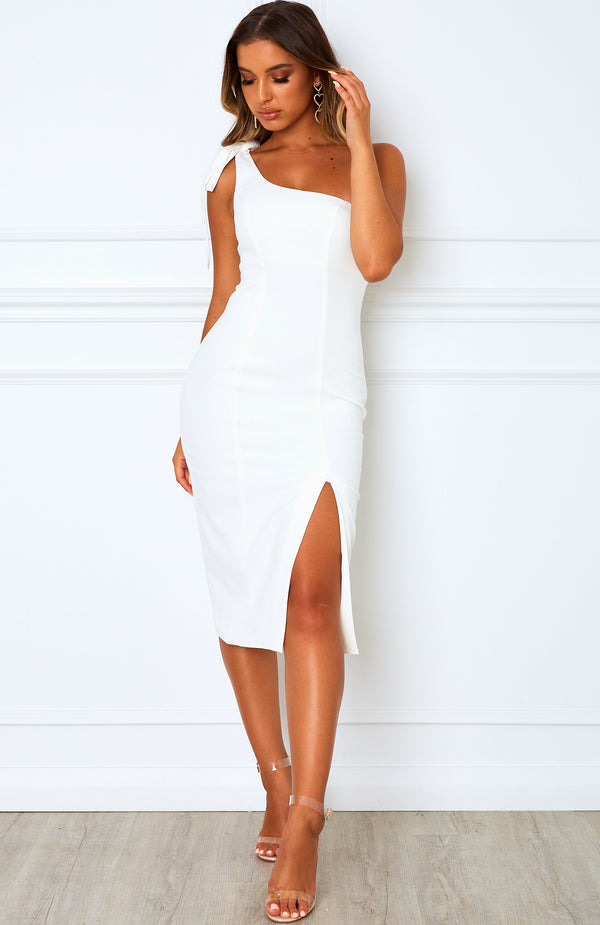 Savanna Midi Dress White