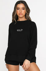 Season Forecast Sweater Black