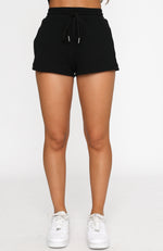 Ride Or Die Shorts Black