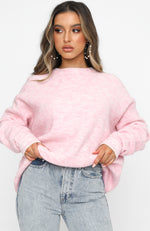 New York Minute Knit Baby Pink