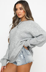 Fifth Avenue Knit Grey