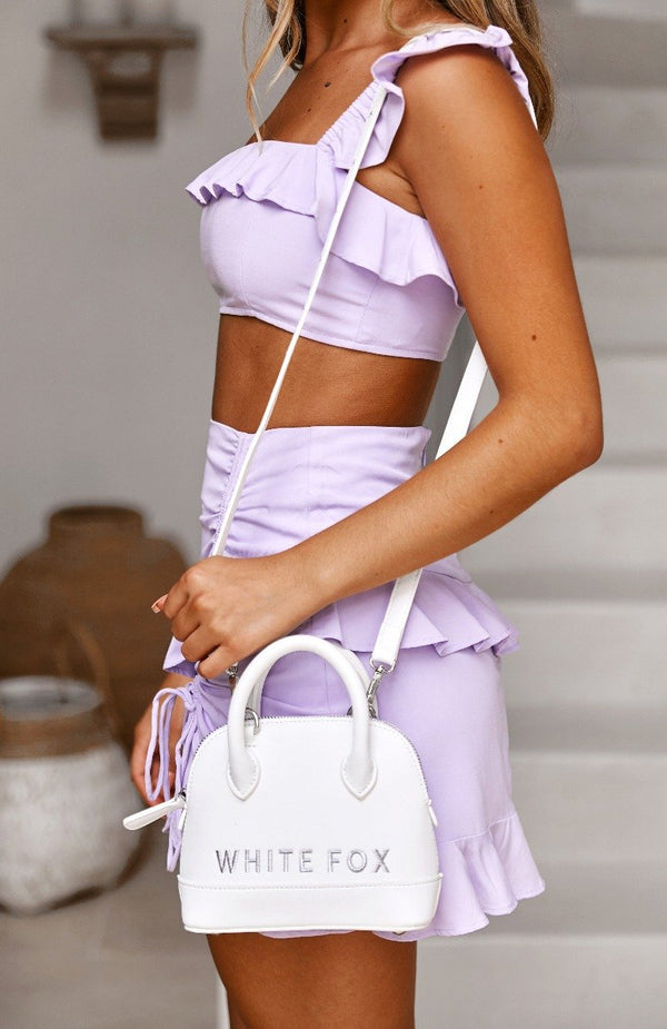 Petite Crossbody Bag White