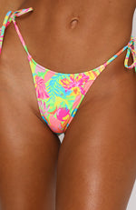 Cabo Bottoms Tropicana Print