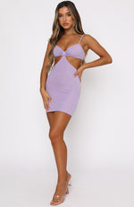 Unreal Mini Dress Lilac