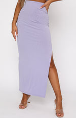 Another Place Maxi Skirt Lilac