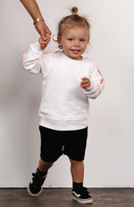 Mini Team A Sweater White