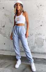 One To Remember Sweatpants Sky Blue