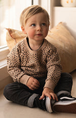 Mini Speckle Sweater Sand