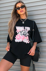 Tour Season Tee Black/Pink