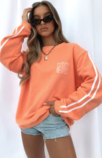 Trend Report Oversized Sweater Peach