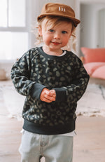 Mini Team Camo Sweater