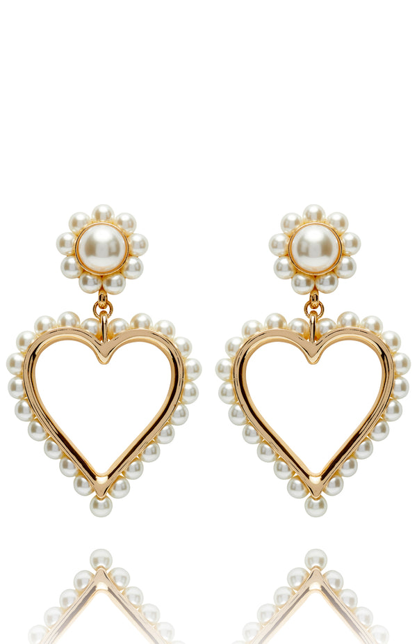 For The Lovers Earrings Gold