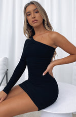 Summer Time Mini Dress Black