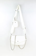 Legacy Crossbody Bag White