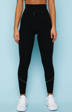 Dominate Leggings Black