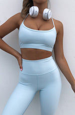 Nora Sports Bra Baby Blue