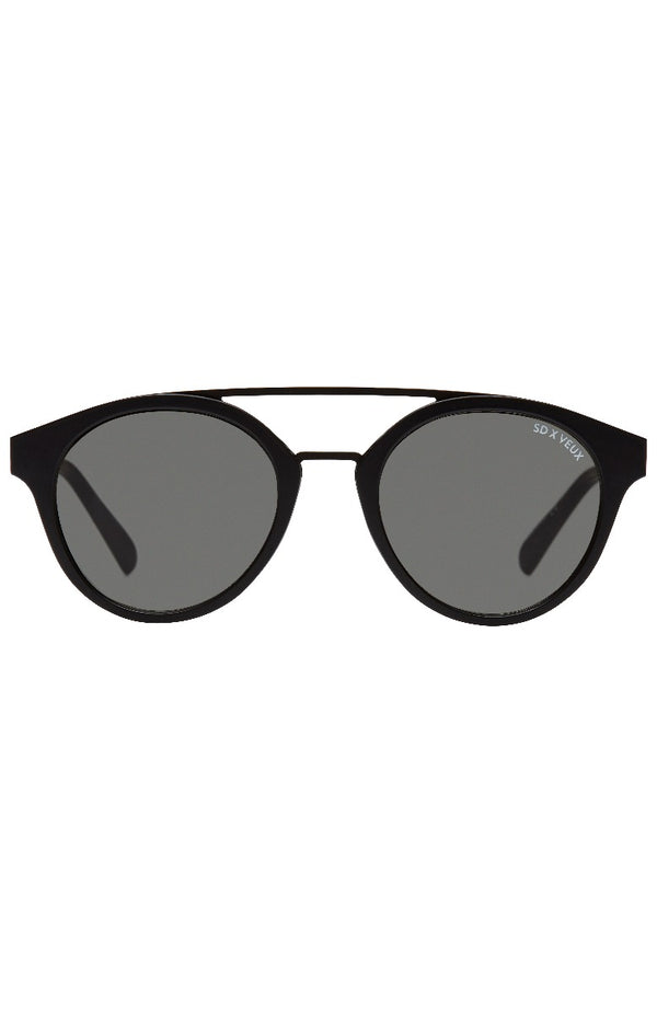 Secret Admirer Sunglasses Matte Black