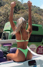 Ibiza Bottoms Neon Green