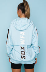 Skyler Windbreaker Sky Blue