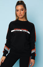 Team Captain Sweater Black