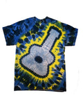 Adult Electric Guitar Tie Dye T-shirt