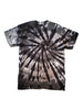 Adult Charcoal Spinner Tie Dye T-Shirt