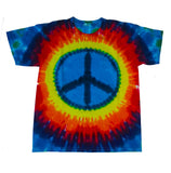 Youth Short Sleeve Rainbow Peace Tee
