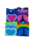 Children's Peace and Love 4 Pack of Classic T-Shirt Assortment