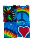 Children's Rainbow 4 Pack of Classic T-Shirt Assortment