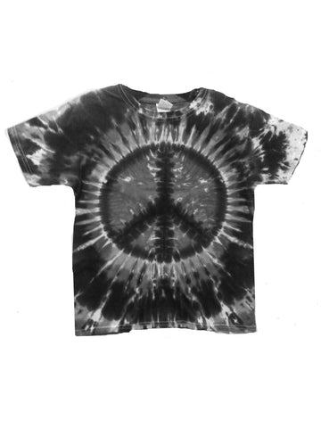 Youth Short Sleeve Charcoal Peace Tee