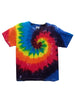 Youth Short Sleeve Rainbow Swirl Tee