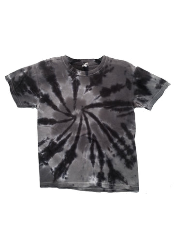 Youth Short Sleeve Charcoal Swirl Tee