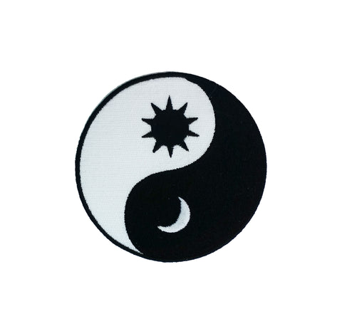 Sun and Moon Ying Yang Patch