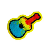 Groovy Tie Dye Guitar Patch