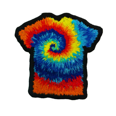Groovy Tie Dye T-shirt Patch