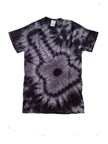 Adult Charcoal Guitar Tie Dye T-Shirt