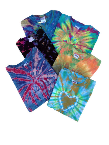 Childrens 6 Pack of Pure T-Shirt Assortment