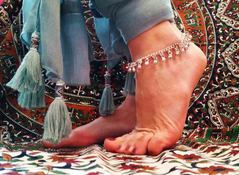 Gypsy Bell Handmade Anklet
