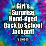 Girl's 5 piece Surprise Back to School Bundle