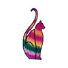 Tie Dye Cat Patch
