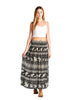 Women's Elephant Maxi Skirt