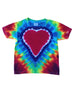Youth Short Sleeve Rainbow Heart Tee