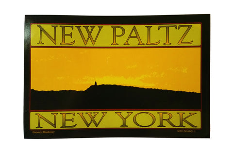 New Paltz Mountain Sticker
