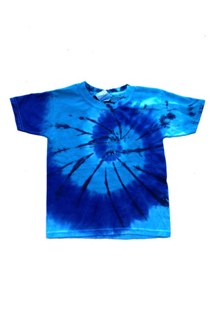 Adult Blues Spinner Tie Dye T-Shirt
