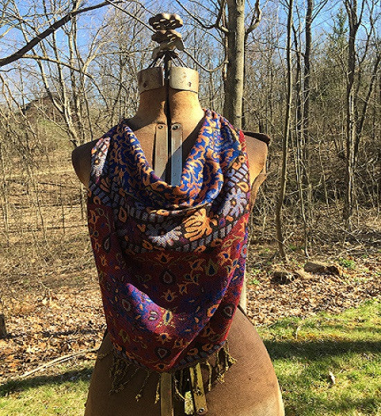 Miss Mosaic Little Boho Scarf