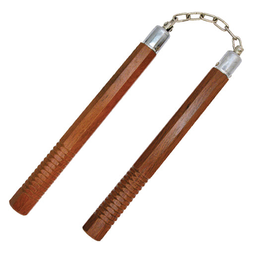 1002 HARD WOOD NUNCHUCKS OCTAGON